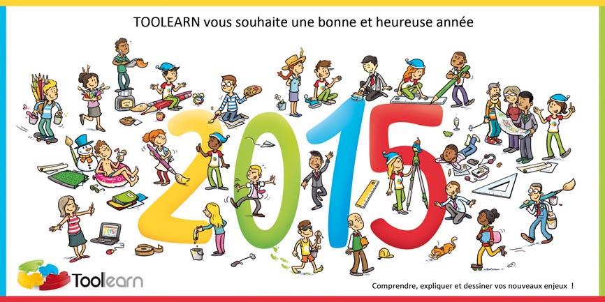 7 Toolearn - Carte de voeux 2015
